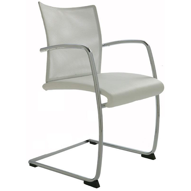 Dauphin Chairs Visita Mesh Back Sled Base Chair